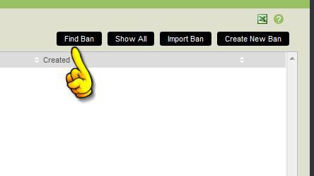 find ban