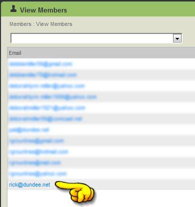 view members screen